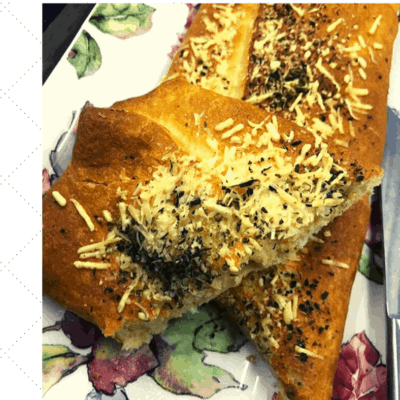 Air Fryer, Stuffed Cheesy Bread, In 5 Minutes
