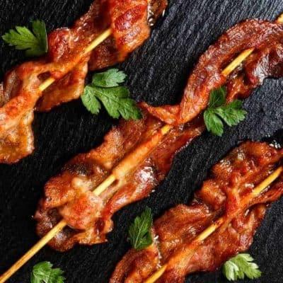 Air Fryer, Millionaire's Bacon