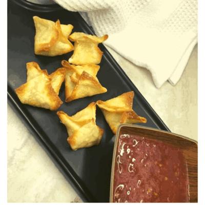 Air Fryer, Chinese Crab Rangoon
