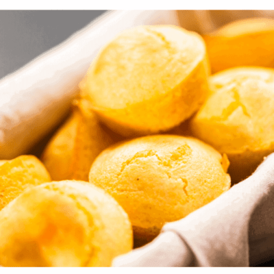Air Fryer, Simply Easy Corn Muffins