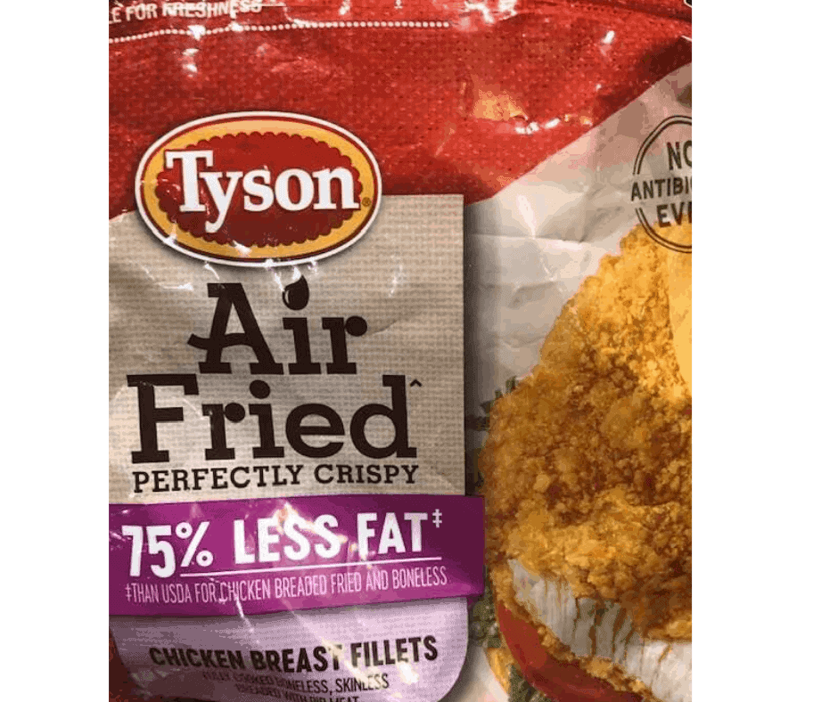How About Air Frying Tyson Air Fried Chicken Breast Fillets