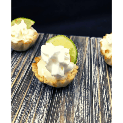 Air Fryer, Lime Cheesecake Bites