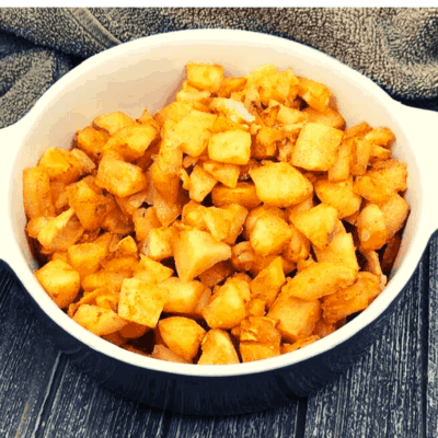Air Fryer, Bob Evan's Seasoned Potatoes Home Fries