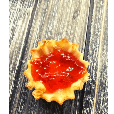 Air Fryer, Brie & Red Pepper Jelly Bites