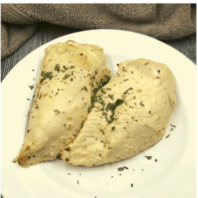 Air Fryer, Easy Italian Chicken