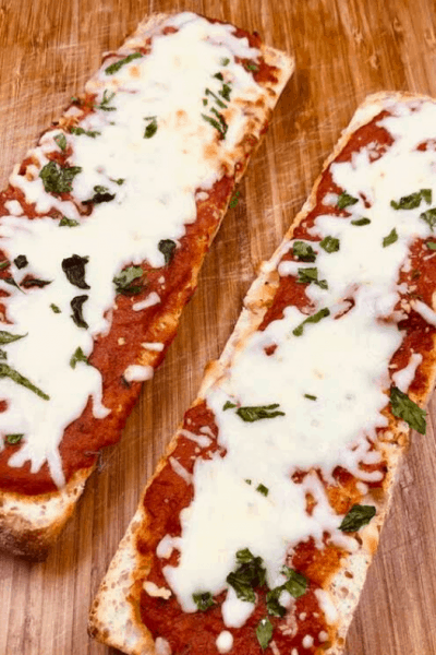 Air Fryer French Bread Pizza