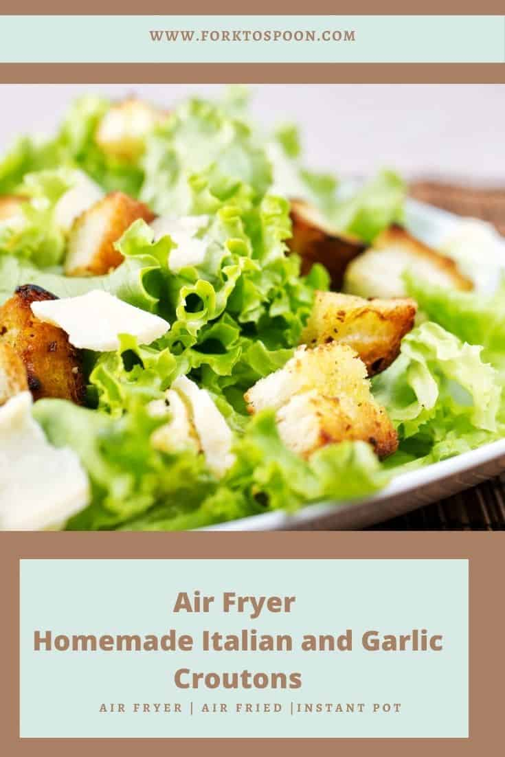 Air Fryer Croutons