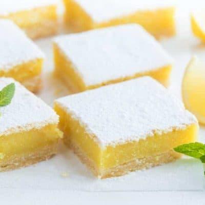 Air Fryer, The Best Lemon Squares