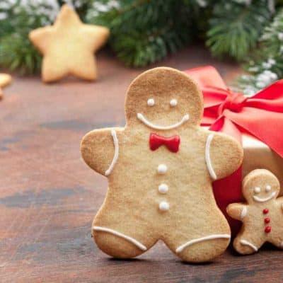 Air Fryer, Gingerbread Man Cookies