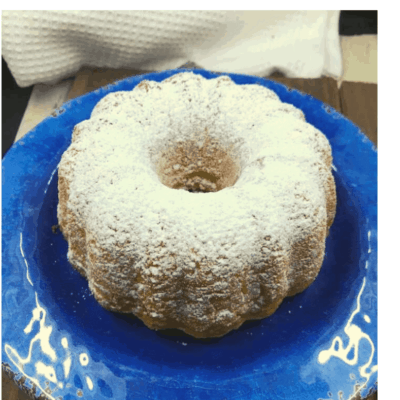 Air Fryer, Lemon Bundt Cake