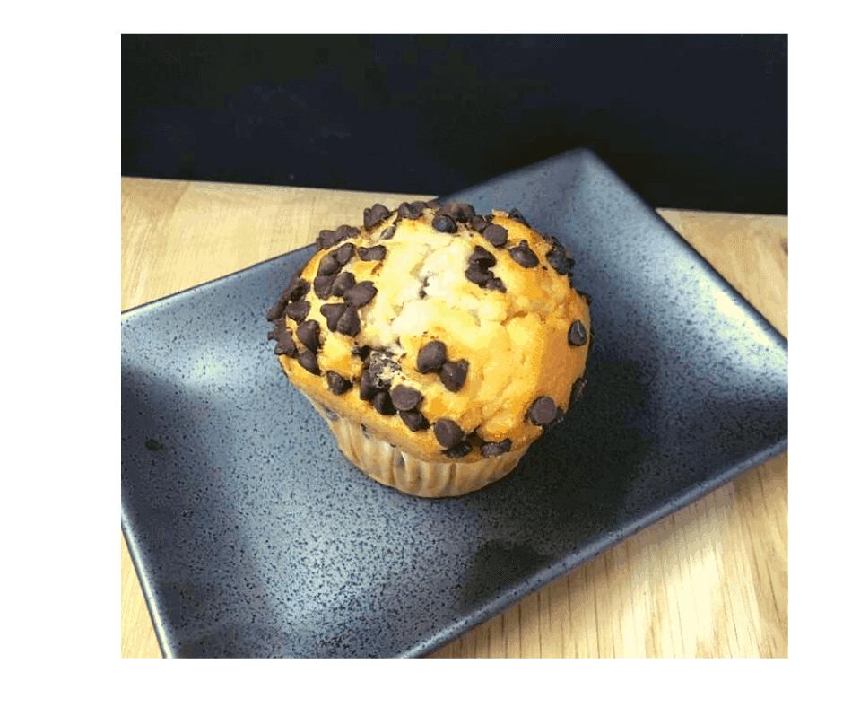 Air Fryer, Homemade Bakery Chocolate Chip Muffins
