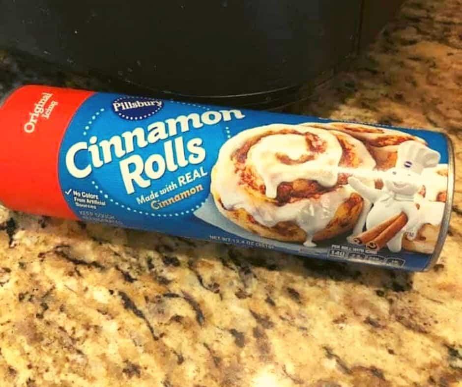 Ingredients Needed For Air Fryer Cinnamon Roll Dutch Apple Pie