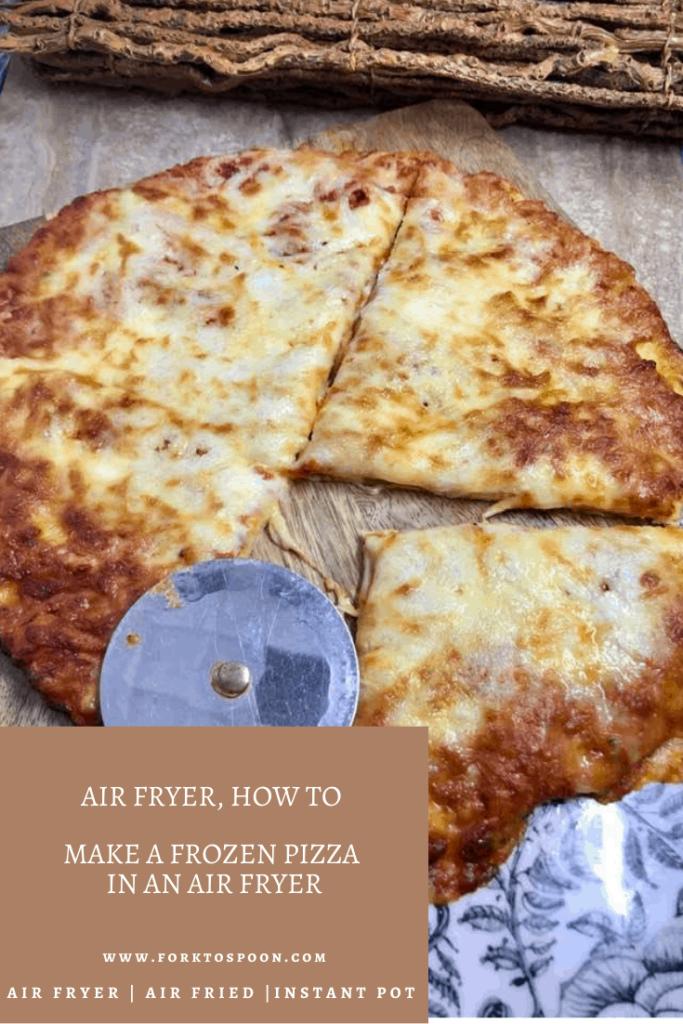 Air Fryer, How To Make A Frozen Pizza In An Air Fryer