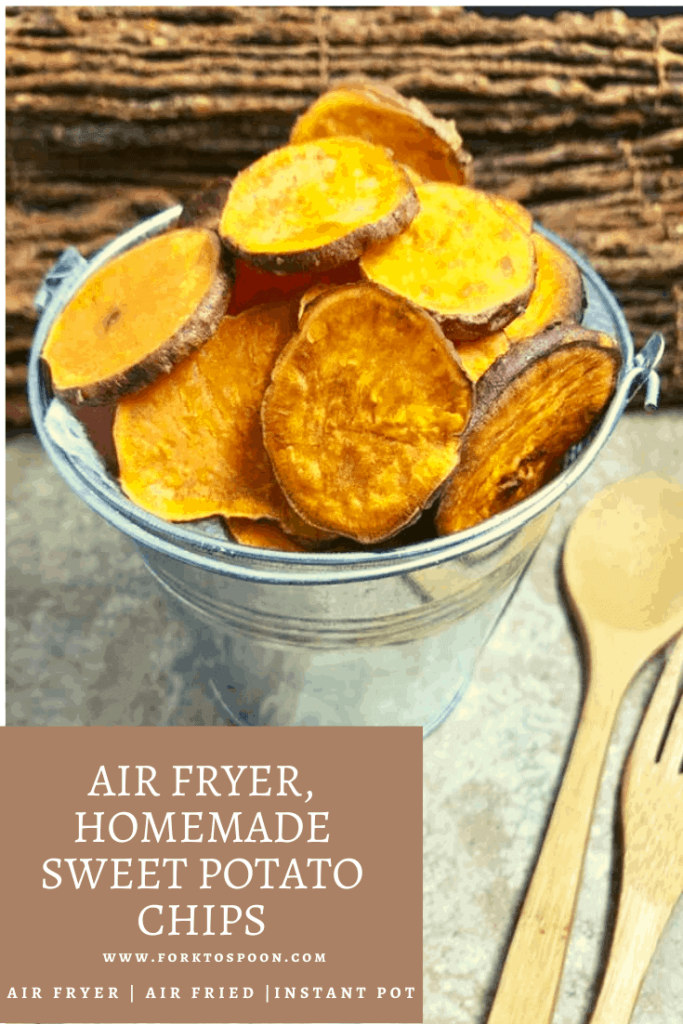 Air Fryer, Homemade Sweet Potato Chips