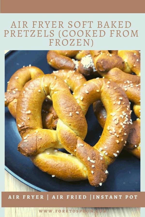 Air Fryer, Air Frying Frozen Pretzels