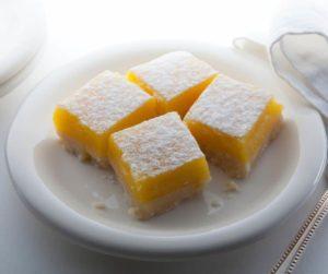 Air Fryer Lemon Squares