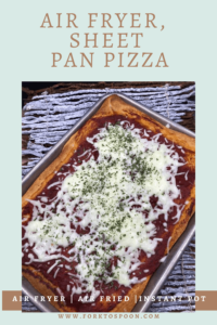 Air Fryer, Sheet Pan Pizza (Used in both the Omni and Omni Plus)