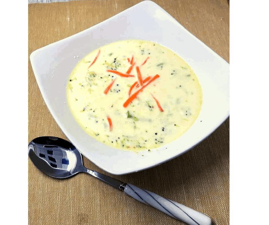 instant pot panera broccoli cheese soup