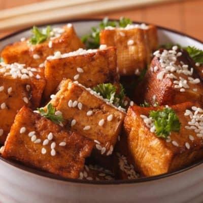 Crispy Air Fryer Tofu (How to Make Crispy Tofu)