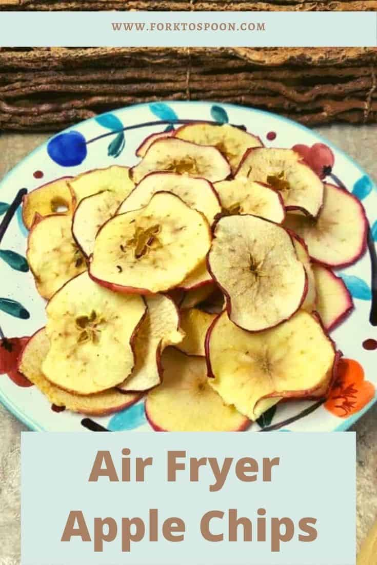 Air Fryer Apple Chips