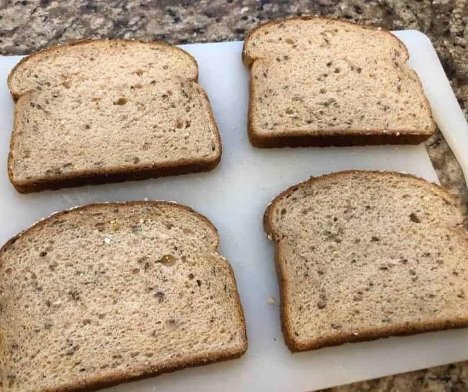 Lay Down Bread on Cutting Board