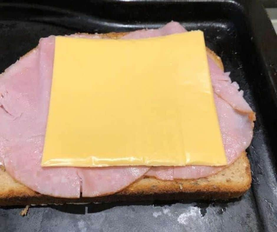 Add Cheese on Top of Ham