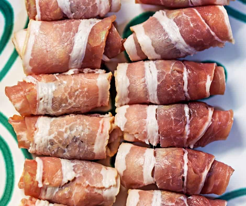 AIR FRYER BACON-WRAPPED DATES