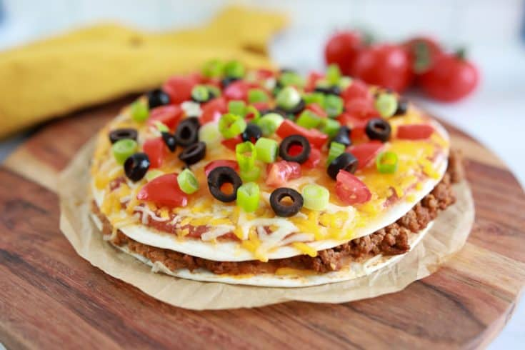 Taco Bell Mexican Pizza Recipe In The Air Fryer