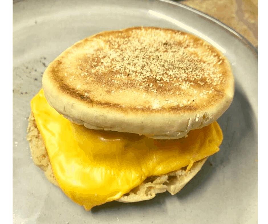 Air Fryer, Copycat McDonald's Sausage McMuffin