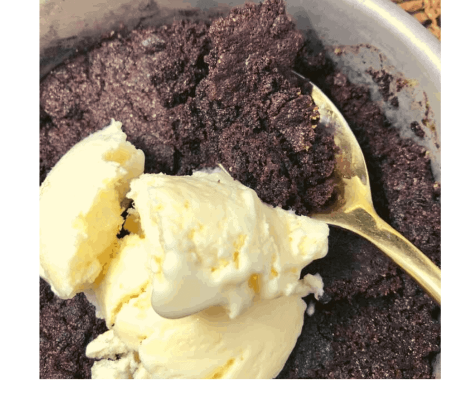 Air Fryer, Easy Brownie Chocolate Pudding