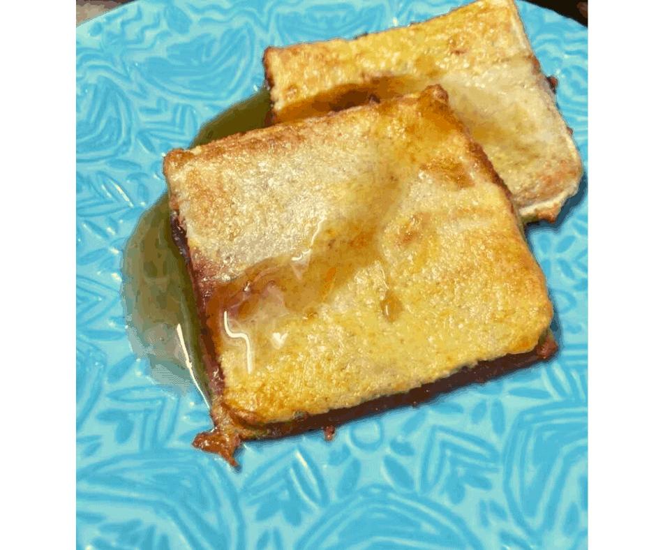 Air Fryer, Easy Strawberry French Toast Pockets