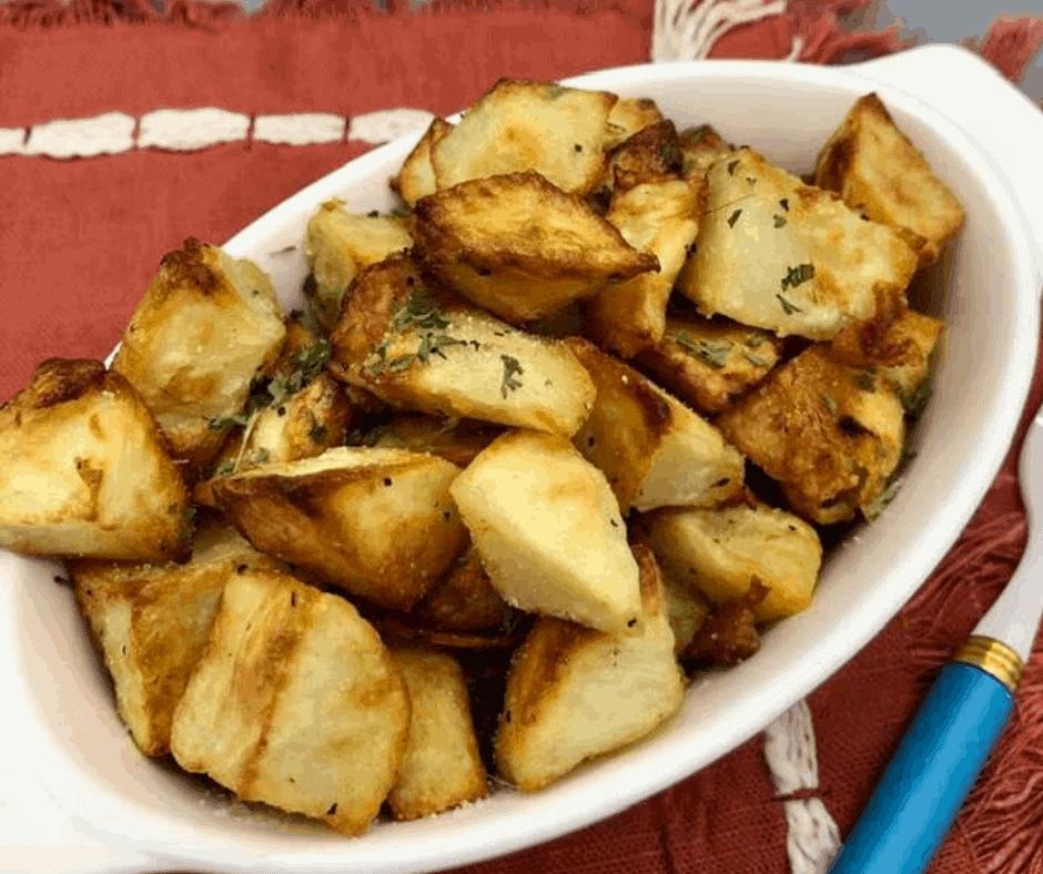 Air Fryer, Easy Breakfast Potatoes