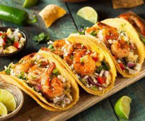 Air Fryer Shrimp Tacos