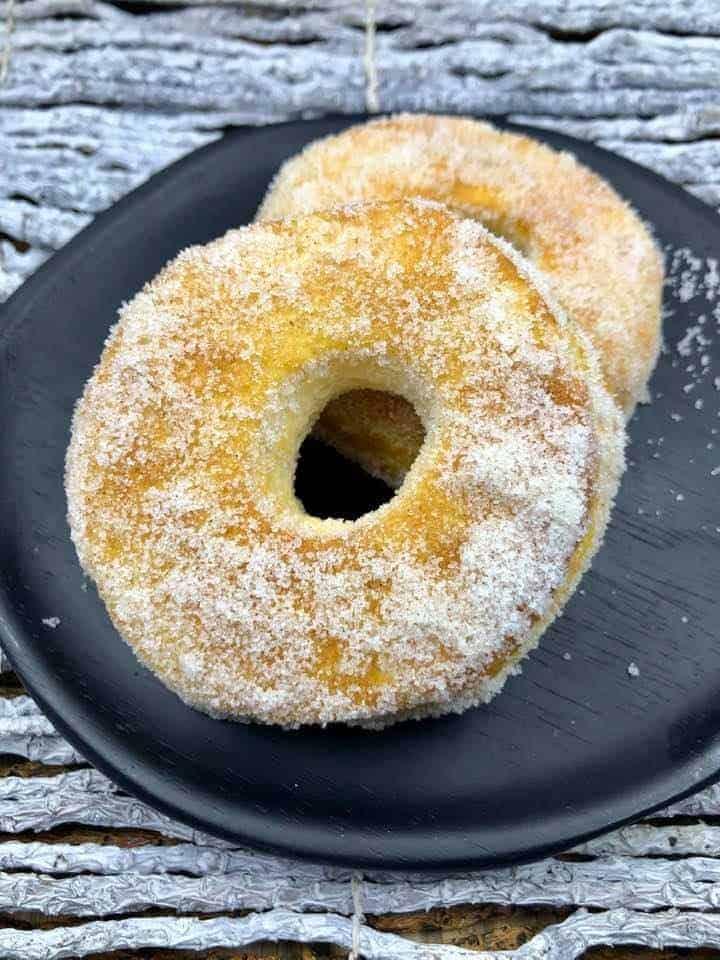 Air Fryer Cinnamon Sugar Biscuit Donuts