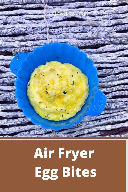 Air Fryer Egg Bites