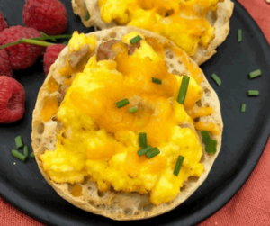 Breakfast Pizzas with English Muffins