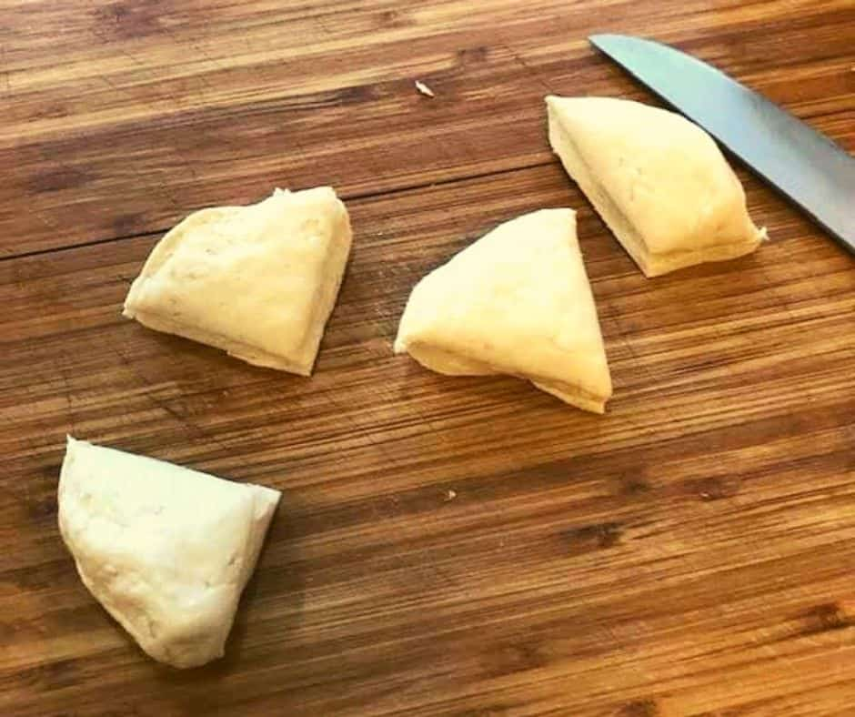 Cut Biscuits into Pieces