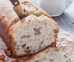 Air Fryer Cinnamon Walnut Pound Cake