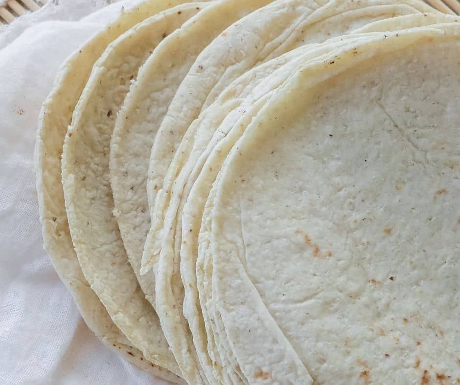 Ingredients For Air Fryer Breakfast Quesadilla