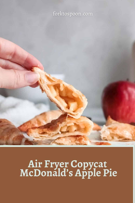 Air Fryer Copycat McDonald's Apple Pie