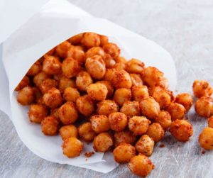 Air Fryer Vinegar and Lime Roasted Chickpeas