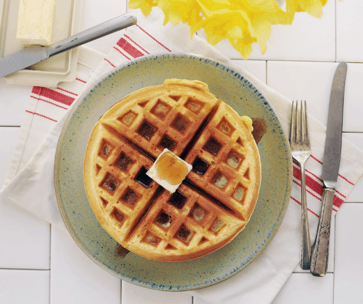 How to Make Frozen Waffles in the Air Fryer