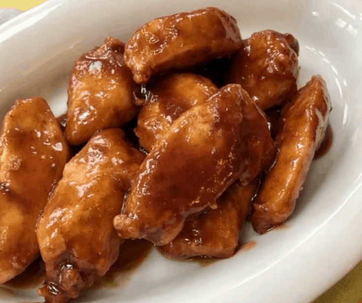 Air Fryer,  Chipotle-Lime  Chicken Wings