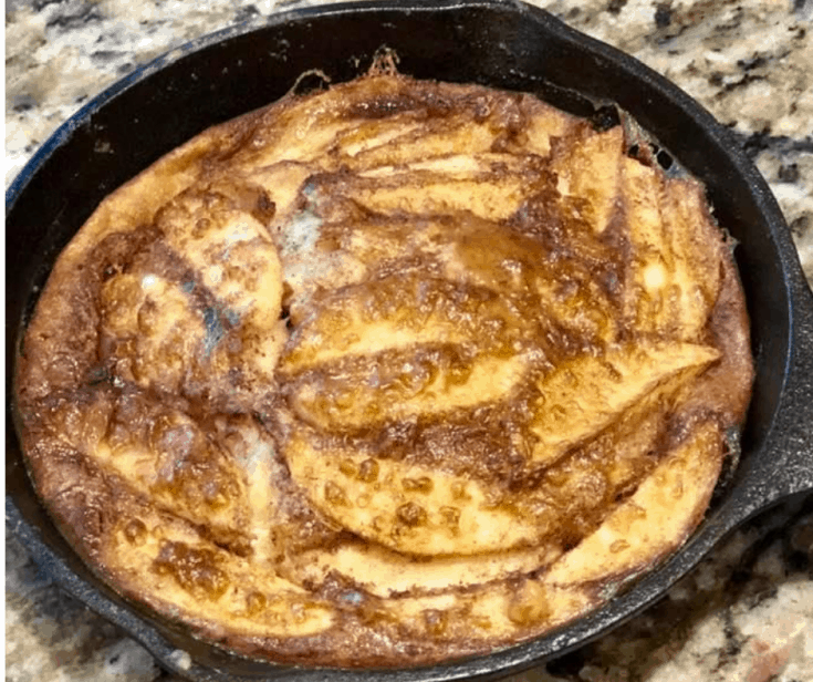 Air Fryer, German Apple Pancakes