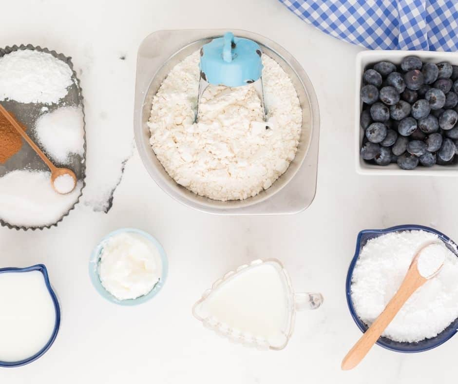 Ingredients Needed For Blueberry Biscuits