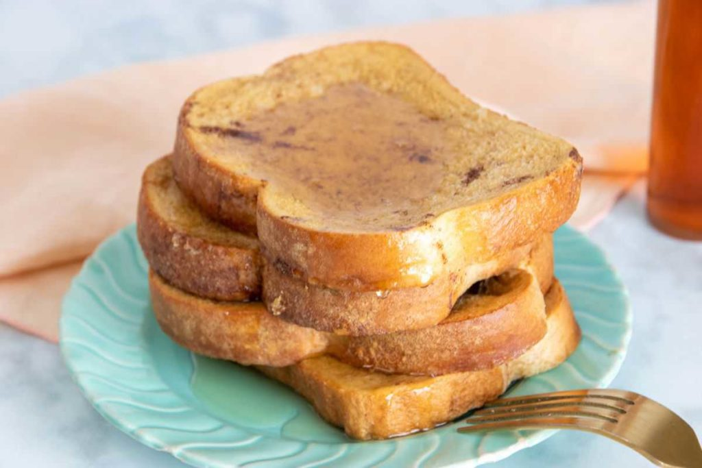 AIR FRYER, THE EASIEST CINNAMON FRENCH TOAST