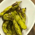 Air Fryer, Roasted Shishito Peppers