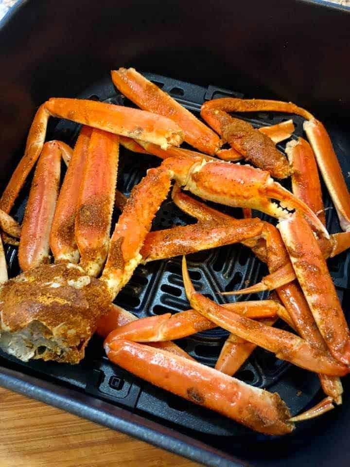 Air Fryer Crab Legs