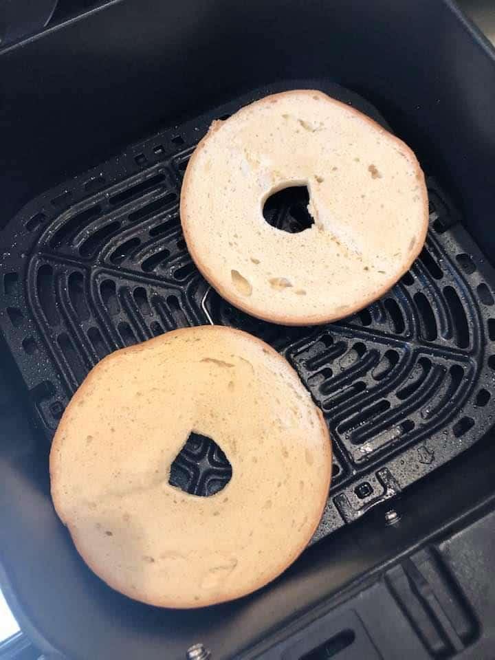 Bagel in Air Fryer