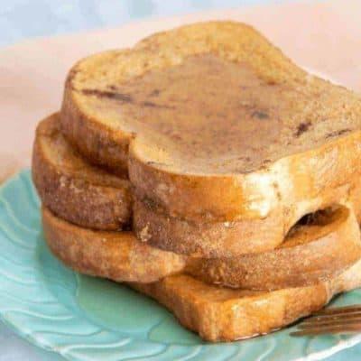 Air Fryer Cinnamon French Toast